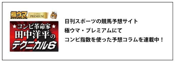 田中洋平のテクニカル6