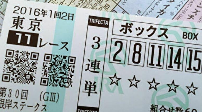 3連複、3連単で馬券を購入する